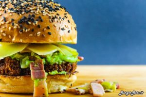 Peas and Love Burger