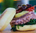 Polp Fiction Burger, mini hamburger di polpo