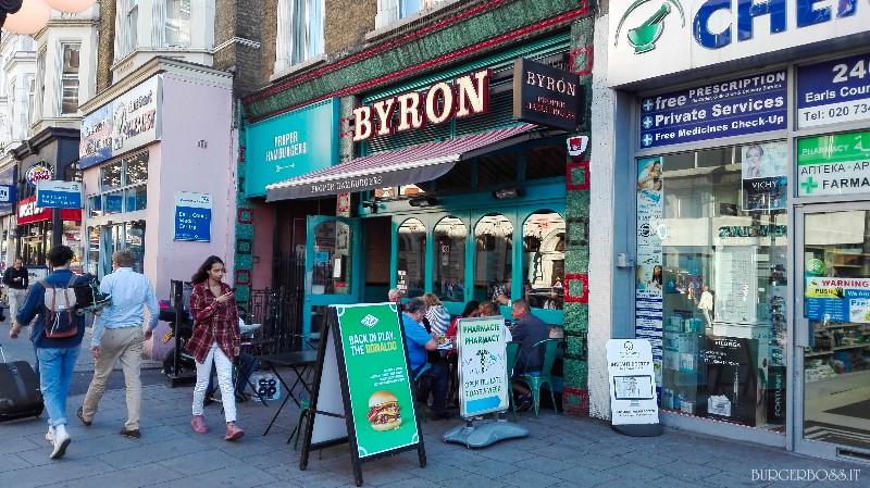 Recensione Byron - Londra