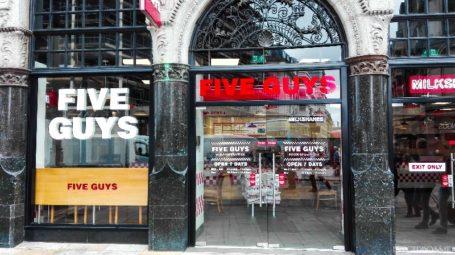 Five Guys - Londra 1