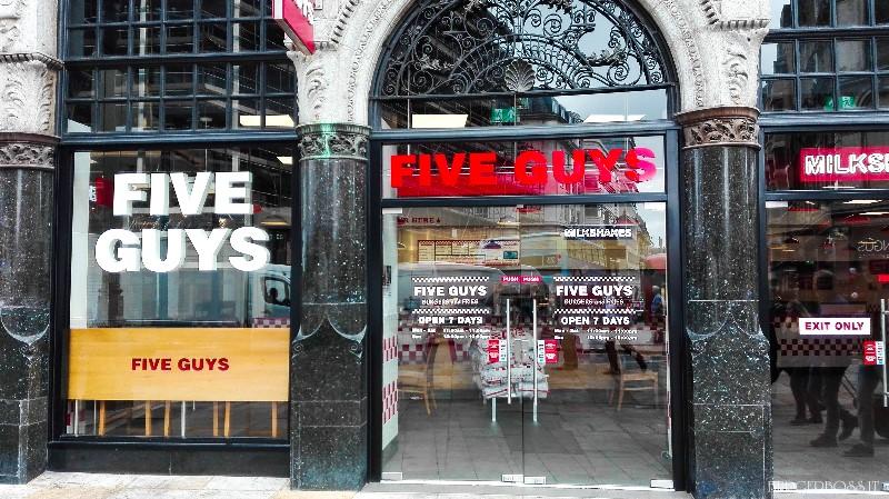 Recensione Five Guys - Londra
