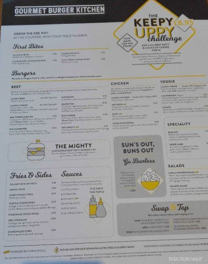 Gourmet Burger Kitchen - Londra 10